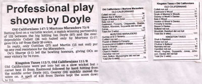 An image of the 1996 Match Report